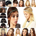 Women Fashion Metal Rhinestone Head Chain Jewelry Headband Head Piece Hair band❤