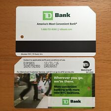 Two NYC MTA Metrocard, Collectible Expired Metrocard With No Value