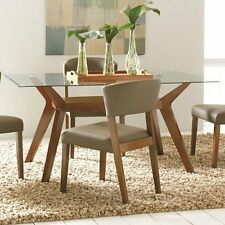 Coaster 122171 Paxton Dining Group Dining Table Base Only, Nutmeg NEW