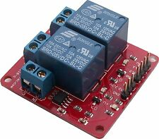 Twin 10A Relay with 20A current sensing, Arduino, Raspberry Pi