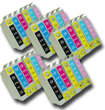 30 T0791-T0796 'Owl' Ink Cartridges Compatible Non-OEM Epson Stylus PX820FWD