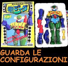 Jeeg Robot New Magnetico Takara Micronauti Soul of Chogokin Micronauts Figure