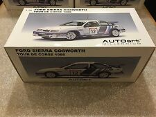 1/18 EXTERIOR BOX FOR AUTOART FORD SIERRA COSWORTH #12 MODIFIED TUNING UMBAU