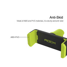 Rock Car Mount Air Vent Holder Cradle for iPhone Samsung Universal Mobile Phone