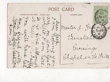 Jack Greenhough Vernstall Crossing Chapel En Le Frith 1910 Postcard 775a