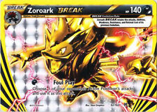 Pokemon XY BREAKthrough Zoroark BREAK 92/162 Rare Card