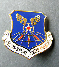 US Air Force Global Strike Command Cap Hat Jacket Lapel Pin USAF 1 inch
