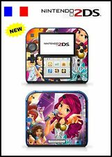 SKIN STICKER AUTOCOLLANT DECO POUR NINTENDO 2DS REF 147 LEGO FRIENDS