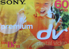 Sony Premium Mini DV tape 60 minuten NEW