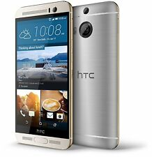 AT&T HTC One M9 32GB Gold on Silver Android Smartphone Fair