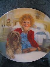 Knowles Little Orphan Annie 1982 Annie And Sandy Ltd Ed Plate Mib