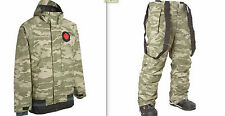 NOMIS SIMON SIGNATURE JACKET AND PANTS SET XL CAMO fit burton 686 airblaster k2