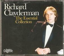 RICHARD CLAYDERMAN THE ESSENTIAL COLLECTION - 4 CD BOX SET READER'S DIGEST
