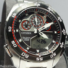 Citizen Eco-Drive JW0111-55E Promaster Super Sport Stainless Chrono Watch $695