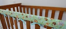 Baby Cot Crib  Rail Cover Teething Pad - Jungle Babies!! ***REDUCED***