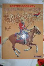 BD lester cockney n°1 les fous de kaboul EO 1982 TBE franz
