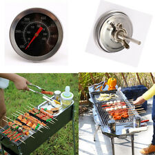 BBQ Pit Smoker Grill Thermometer GAUGE Temp Outdoor Camping Barbecue Cook Food