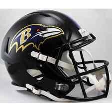 BALTIMORE RAVENS NFL Riddell SPEED Full Size Replica Football Helmet