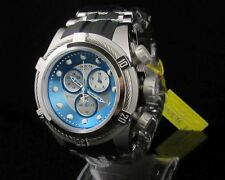 Invicta Reserve Bolt Men Swiss Made Zeus Ice Blue/silver Black Poly Watch 21810