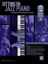 Sitting In -- Jazz Piano: Backing Tracks and Improv Lessons (Book & DVD-ROM) (Co