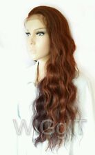 INDIA | SLEEK FASHION IDOL 101 LONG WAVY SYNTHETIC LACE FRONT WIG | MULTI-TONAL