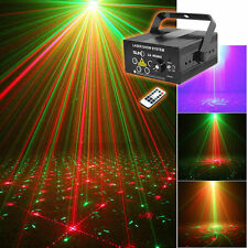 SUNY 5 Lens RG BLUE LED 80 Gobos Projector Laser Stage Light DJ Dance Home Party