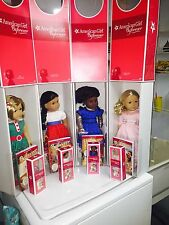 American Girl Kit, Addy, Josefina, Caroline & Matching Mini Dolls BNIB Beautiful