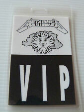 Metallica Day On The Green Laminated VIP Backstage Tour Pass