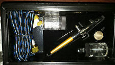 NWOT BADGER PROFFESSIONAL Airbrush Kit With Black Storage Case Model #150
