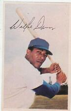 WILLIE DAVIS 1969 MLB Dell Photostamps LA Los Angeles Dodgers EX+/NR MT