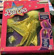 "Barbie Superstar Fashion For  ""Rock 'N Roll Star"" Concert to Award 1988 NRFB"