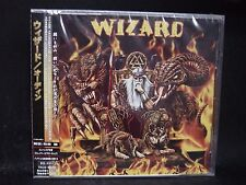WIZARD Odin + 1 JAPAN CD + Enhanced Video Clip No Inner Limits Delany Purgatory