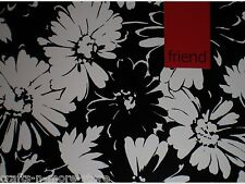 """Black/White/Red Flowers """"Friend"""" Note Cards w/ Envelopes"""
