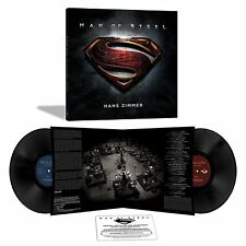 HANZ ZIMMER MAN OF STEEL ORIGINAL MOTION PICTURE SCORE NEW SEALED 180g VINYL LP