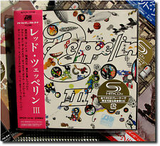 Led Zeppelin , Led Zeppelin III  ( SHM-CD_Paper Sleeve )