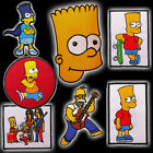 THE SIMPSONS Patch Collection with Homer, Bart - Embroidered Patches, NEW