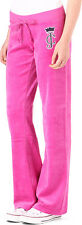 NWT Juicy Couture Velour Pant in Crown Cameo, Large, color: Glamour Pink, $108