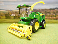 BRITAINS JOHN DEERE 8600i SELF PROPELLED FORAGE HARVESTER 1/32 43198 BRAND NEW
