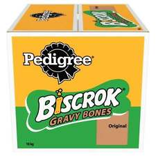 Pedigree Biscrok Gravy Bones Original Meat 10 kg Dog Treats Biscuits