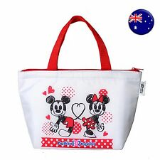 Girl Child Lady Minnie Mouse Back School Lunch Box Tote Organizer Insulated Bag