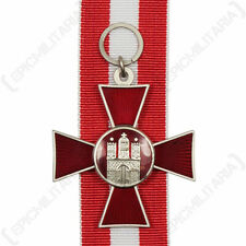 WW1 Imperial German Army HAMBURG HANSEATIC CROSS - Military Service Medal Award