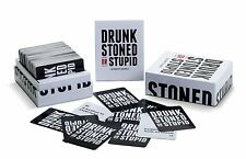DRUNK STONED OR STUPID [A Party Card Game] [US] for 17 years and up