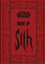 Star Wars: Book of Sith by Daniel Wallace (Hardcover) Brand New
