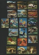 BHUTAN, NICE COLLECTION 3-D STAMPS, 19 DIFFERENT, ALL MNH