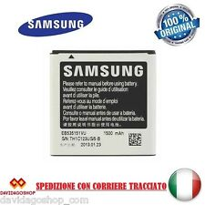 BATTERIA ORIGINALE SAMSUNG EB535151VU PER GALAXY S ADVANCE 1500mAh BULK