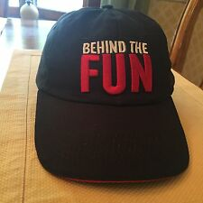 Carnival Cruise Line Behind The Fun Team Member Hat
