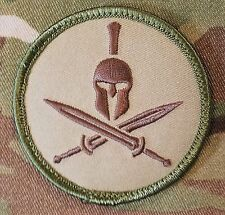 SPARTAN USA ARMY US MILITARY ISAF MORALE TACTICAL MULTICAM HOOK PATCH