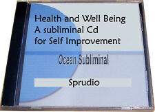 Improve and Maintain your Health and Well Being Subliminal Messages CD Ocean New