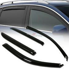 FOR 02-09 TRAILBLAZER 4DR SMOKE TINT WINDOW VISOR SHADE/VENT WIND/RAIN DEFLECTOR