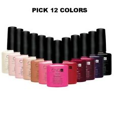 CND Shellac Soak off Gel Nail Polish UV Colors 0.25 oz. PICK any 12 COLORS set